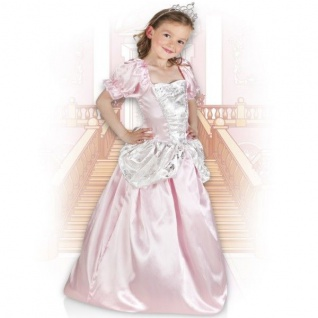 Elegantes Prinzessin Kleid 116/122 (4-6) Rosabel Mädchen Kostüm Prinzessinkleid