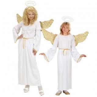 ENGEL Kostüm Damen und Kinder Partnerkostüm - Engelskostüm Weihnachten PREISHIT