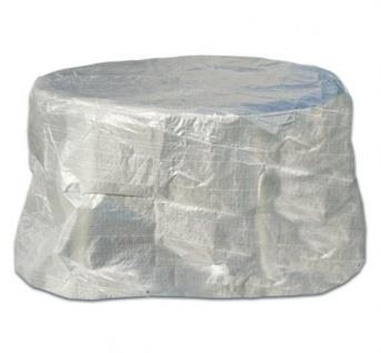 Profiline Schutzhülle Transparent 125cm Möbelschutzhülle Abdeckung Gartentisch