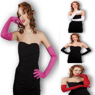 Handschuhe LANG Los Angeles für Party Show Theater Karneval 4 Farben zur Auswahl