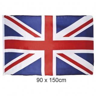 Flagge Union Jack Großbritannien 90 x 150 cm Hissflagge Fahne Sturmflagge UK - Vorschau