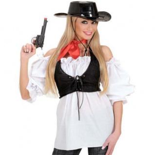 Piratenbluse weiß Gr. M/L 38-42, XL 46-48 Piratin Pirat Bluse Karneval Fasching