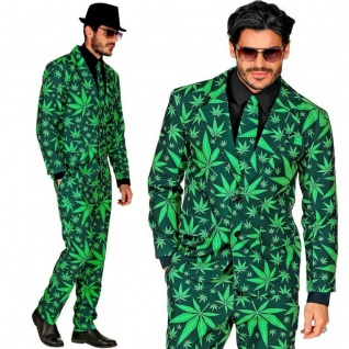 POP ART GANJA STYLE Party Anzug Herren Kostüm Hipster - Hose Jacket Krawatte