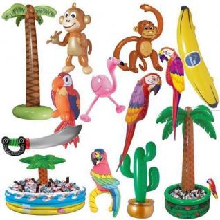 Aufblasbare PARTY DEKO Hawaii Strandparty Sommer Fest Feier Kinder Geburtstag