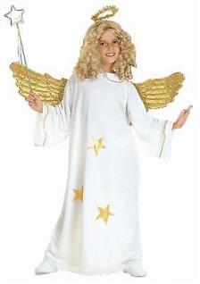 TOP Star Kinder Engel Kostüm mit Heiligenschein Gr. 140 - S3818