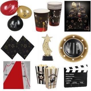HOLLYWOOD Motto Party VIP Geburtstags Dekoration Kino Premiere Teller Becher