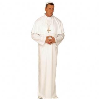 DELUXE PAPST KOSTÜM Gr. 48 (S) Karneval Kirche Priester Fasching #4432