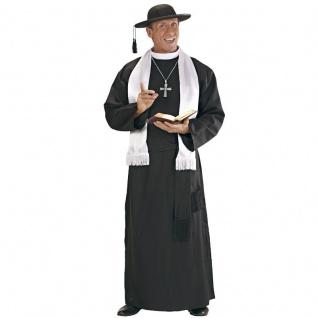 Pfarrer Priester Gr. 50 (M) Hochwürden DON CAMILLO Pastor Karneval Kostüm #4457