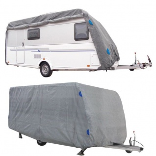 Wohnwagen Schutzhülle 6, 70 x 2, 50 x2, 20m Caravan Garage Schutzhaube Wetterschutz