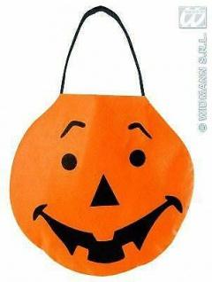 Halloween Betteltasche lachender Kürbis Kinder Halloween Party