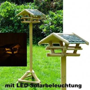 Vogelfutterhaus + Beleuchtung Vogelhaus Vogelhäuschen Vogel-Haus Futterhaus 1983