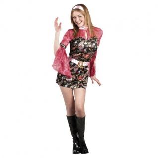 Damen Kostüm S (36-38) Sexy Party Chick 70er 80er Karneval Schlagermove 83619