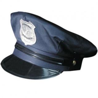 POLIZEIMUETZE Polizei-Mütze Police Officer Cop Mütze Karneval Hut 7050