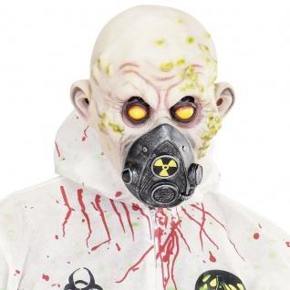 MASKE TOXIC BIO-UNFALL Zombie Halloween Karneval Horror 0843