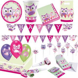 EULEN Party Kindergeburtstag Motto Party Deko 1. Geburtstag Mädchen Geburtstag