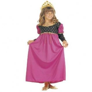 Kinder Kostum Prinzessin Gr 140 Fee Mittelalter Fasching Marchen