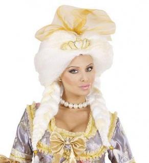 KÖNIGIN PERÜCKE Karneval Fasching Theater Barock Rokoko Damen Kostüm Party 6562