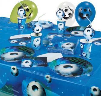 Fussball Deko, Set, Party Motto, Geburtstag, Kindergeburtstag, Feier, Garten,