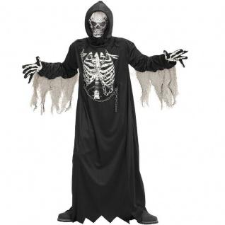 SENSEMANN KOSTÜM KINDER 134/140 Jungen Halloween Geister & Monster Party # 0867