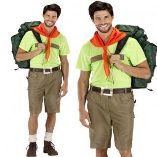 Kostüm PFADFINDER Gr. 50 (M) Boy Scout Uniform Herren Karneval Fasching #7607