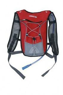 Rucksack mit Trinksystem - Rot - Touren Rucksack Trekking mit Wasserversorgung