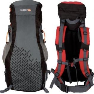 Tourenrucksack Reise Trekking Rucksack Backpack 55L grau/schwarz