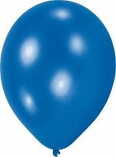 10 Stück blau Luftballons Hochzeit Geburtstag Deko Ballons Deko