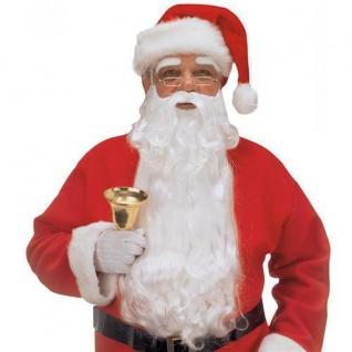 TOP WEIHNACHTSMANN BART UND AUGENBRAUEN Nikolaus Kostüm Weihnachten 1523