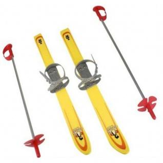 "KINDER SKI-SET 76 cm "" GELB"" Baby Ski LERNSKI Babyski Ski"