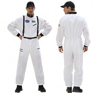 Kostüm Astronaut - Astronauten Overall Herren Astronautenanzug - S1104