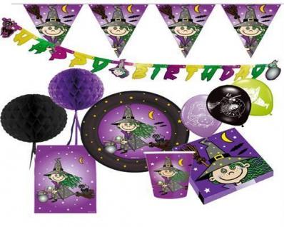 Kleine Hexe Kinder Geburtstag Halloween Party Deko Auswahl