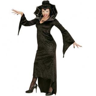 SPIDERELLA SPIDER LADY Damen Kostüm Schwarze Witwe Gr. M 38/40 Hexe Gothic
