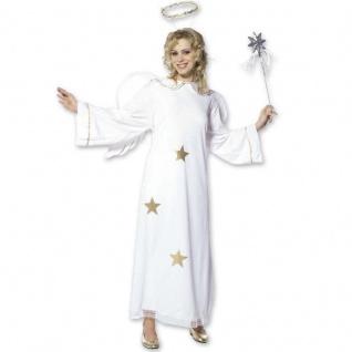 Kostüm Engel Gr. S 34/36 Flügel - Heiligenschein - Damen Engelkostüm 5111