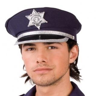 TOP Police Cap Polizeimütze Polizei-Kappe Hut Mütze Karneval #050