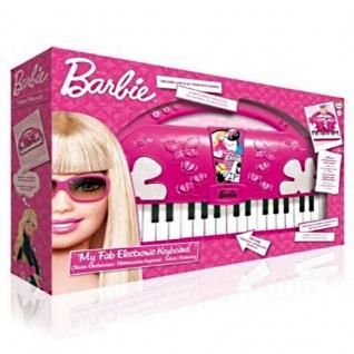 Barbie Keyboard elektronisch Kinder Piano Spielzeug Klavier - NEU