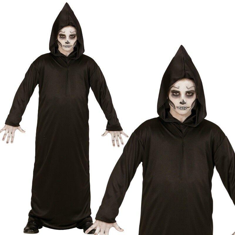 Sensenmann Grim Reaper Tod Halloween Kostum Fur Kinder Jungen