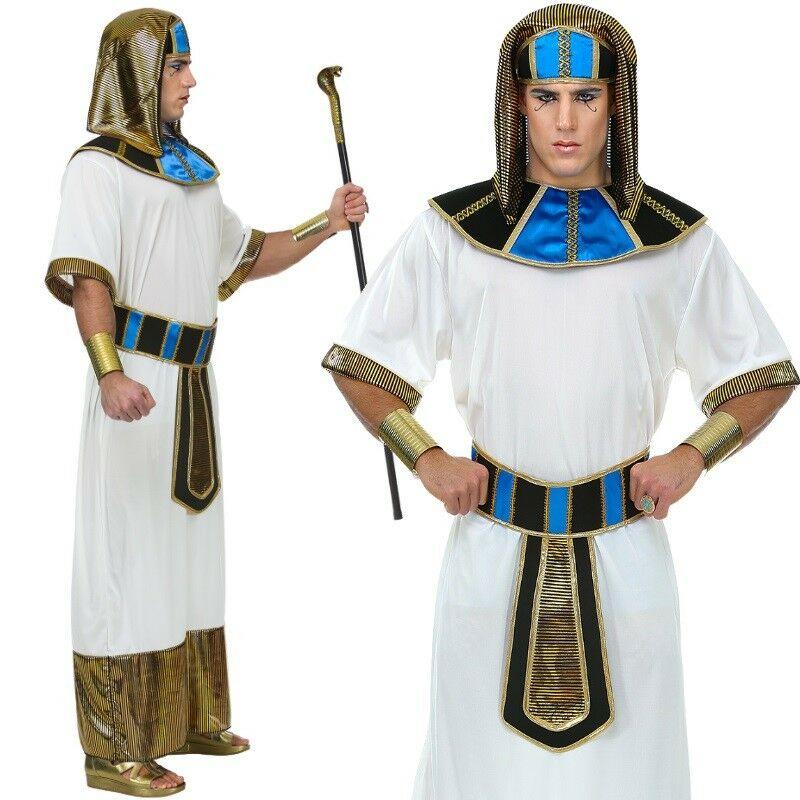 Pharao Agypter Konig Herren Kostum Gr 48 52 M L Karneval