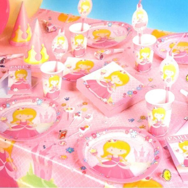 Prinzessin Party Princess Alles Zum Kinder Geburtstag Deko Teller