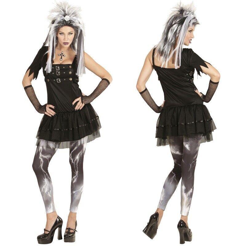 GOTH PUNK Steampunk Damen Kostüm Halloween Fasching Gothic 36 38 40 42 44 46 48