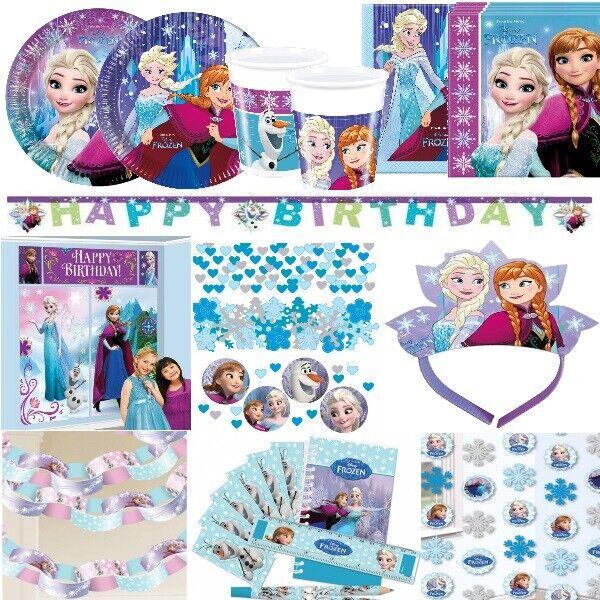Party Decoration Eiskonigin Frozen Kindergeburtstag Deko Anna Elsa