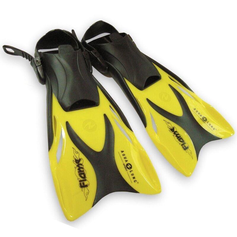 74cf0062151b3 Aqua Lung - Flame Junior, Schwimmflossen für Kinder Farbe gelb Gr. 27-36