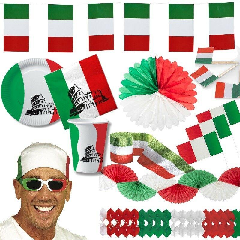 Italien Deko Italienische Party Grun Weiss Rot Girlande Laterne