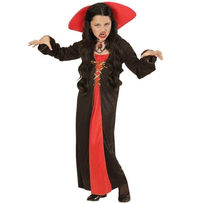 VICTORIAN VAMPIRESS 38//40 Vampirin Damen Kleid Barock Vampir Kostüm 0422 M