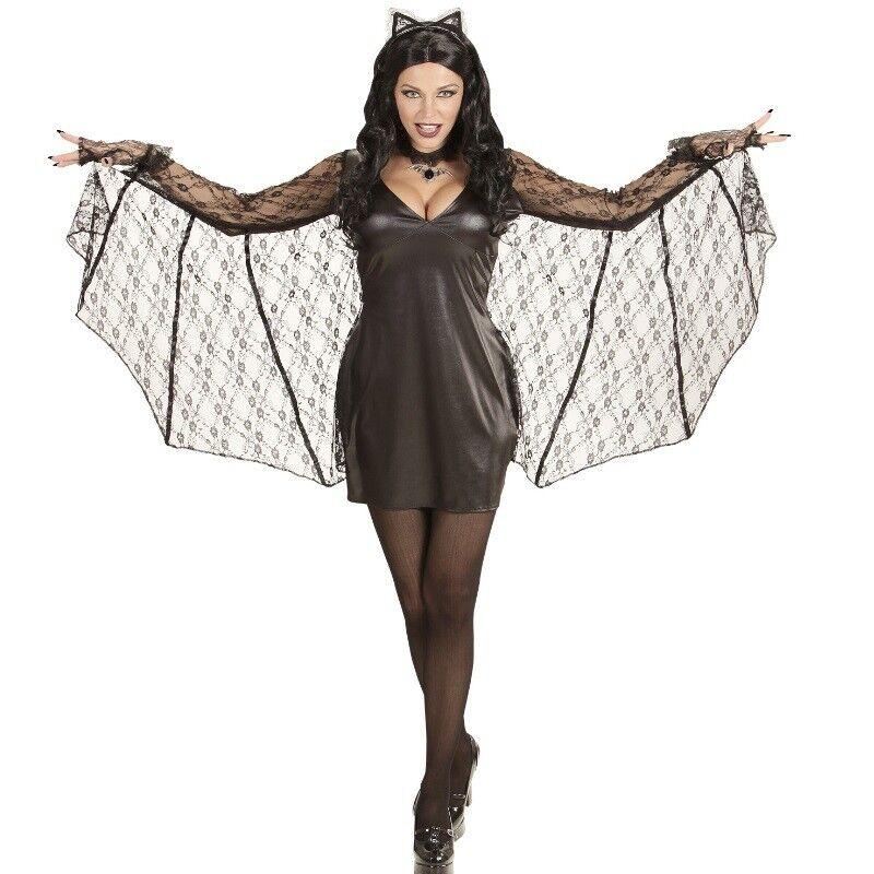 Sexy Fledermaus Bat Damen Kostum L 42 44 Halloween Kleid Mit Flugel Und Ohren Kaufen Bei Schreibers Shop Vertriebs Gmbh Co Kg