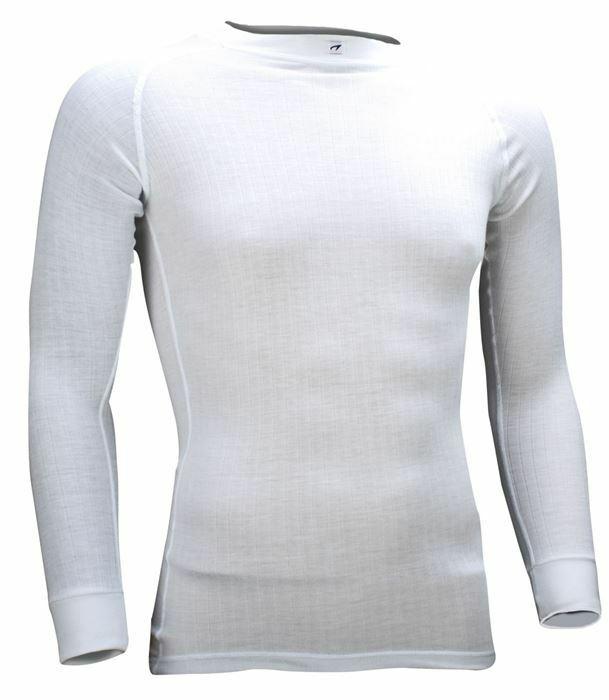 newest 3180b 73e04 Avento® Funktionsshirt Herren Thermo Shirt Baselayer langarm weiß Gr: S -  XXL