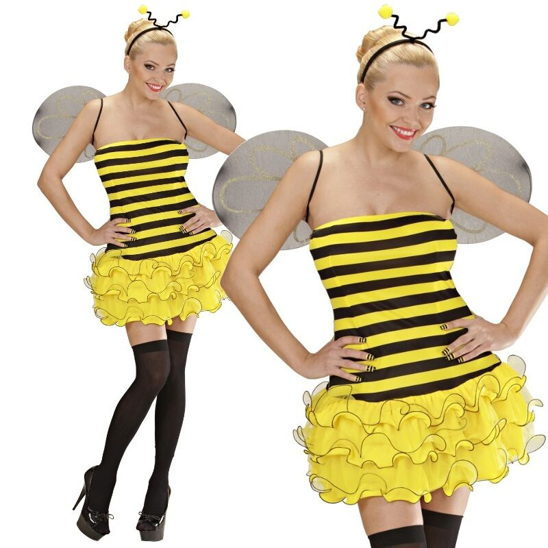 Sexy Biene Damen Kostum Gr S 38 40 Bienchen Tierwelt Karneval