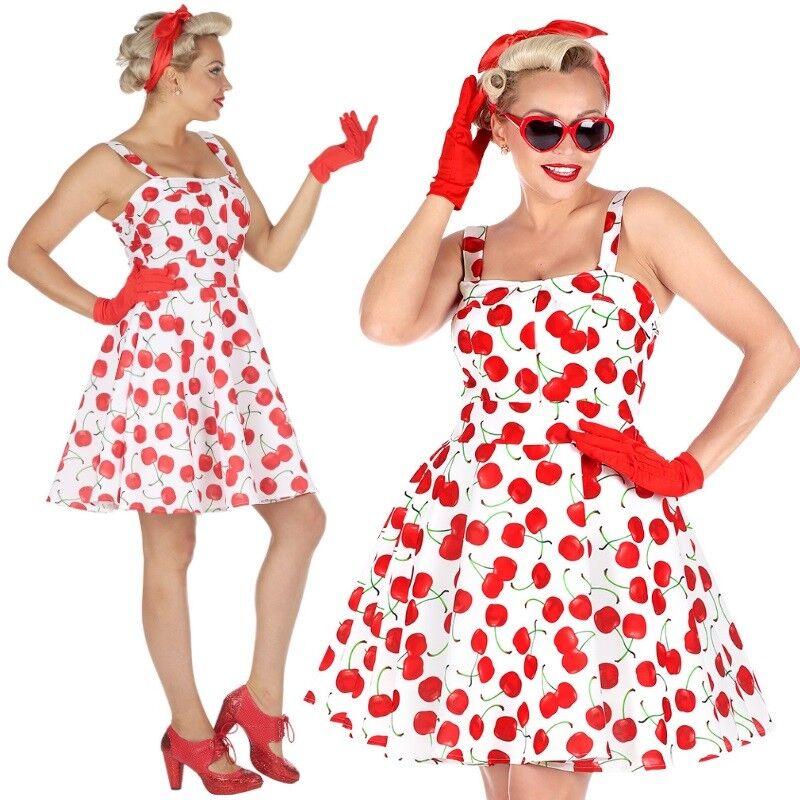 50er Jahre Rockabilly Kleid Mit Petticoat 38 40 M Damen Kostum Kirschen 4832 Kaufen Bei Schreibers Shop Vertriebs Gmbh Co Kg