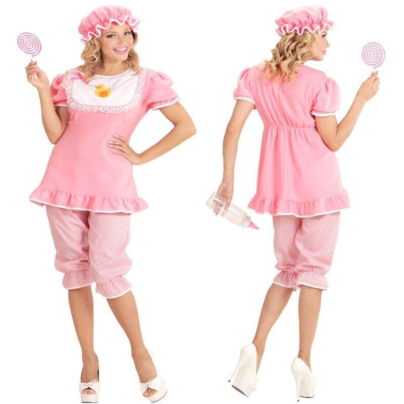 Baby Girl Mädchen Gr S 3436 Damen Kostüm Erwachsene Strampler Babykostüm