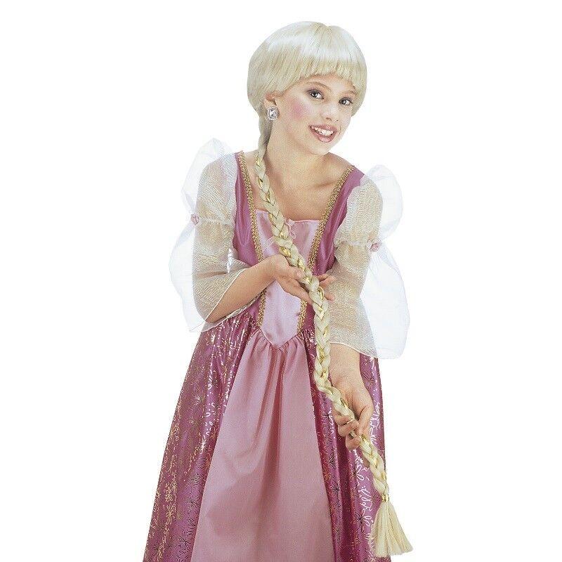 Blonde Kinder Zopf Perucke Karneval Fasching Madchen Prinzessin