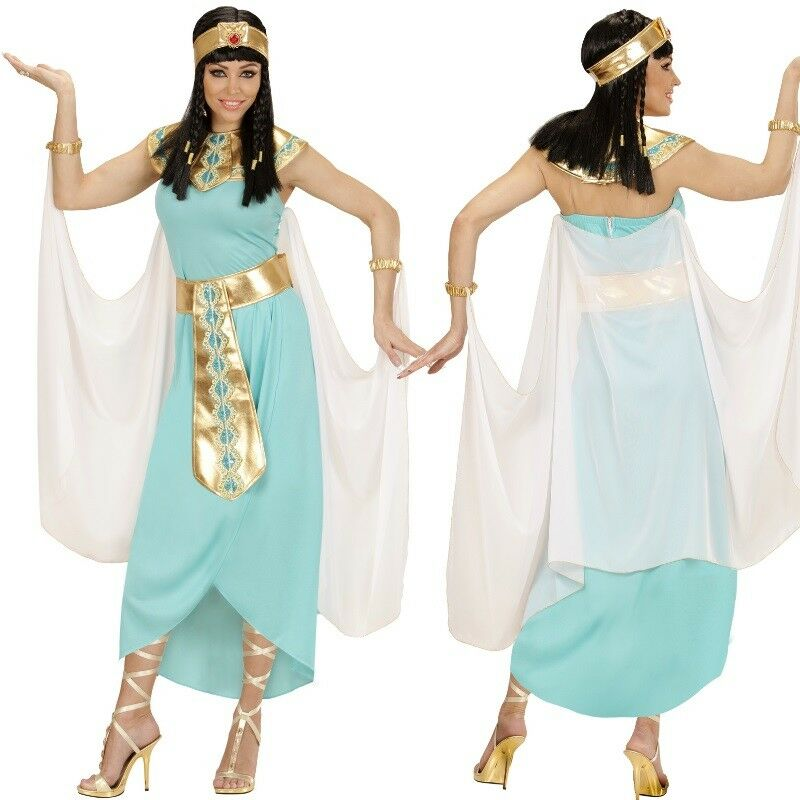 Pharaonin Cleopatra Agyptische Konigin Damen Kostum Neu Karneval